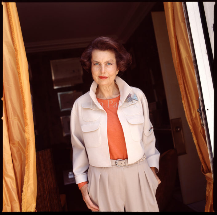 LILIANE BETTENCOURT CEO L'OREAL